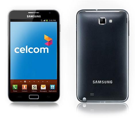6344306578 f95488bb85 Plan Celcom Executive Samsung Galaxy Note  dari serendah  RM 1,368