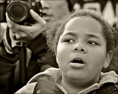 the face of occupy toronto .... (ana_lee_smith) Tags: bw toronto sepia vintage lens photography march site portait rally protest photojournalism documentary saturday social financialdistrict demonstration beercan solidarity portraiture queenspark stjamespark kingstreet ot assembly royalbank 2011 legislativebuilding ows landclaims the99 sacredfire nov12th nativerights analeesmith globalmovement minoltaaf70210mm occupiedland sonyslta33 occupytoronto occupyingtoronto insolidaritywiththefirstnationspeopleofcanada