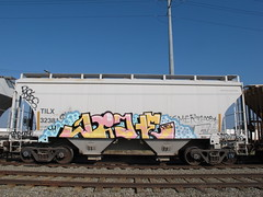 rick ross (VANDAL TEAM SUPREME) Tags: train graffiti niche freight rickross vts nicher larryhoover bigmeech
