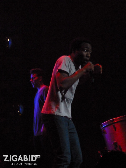 CHILDISH GAMBINO performs at Club Nokia 11.12.11