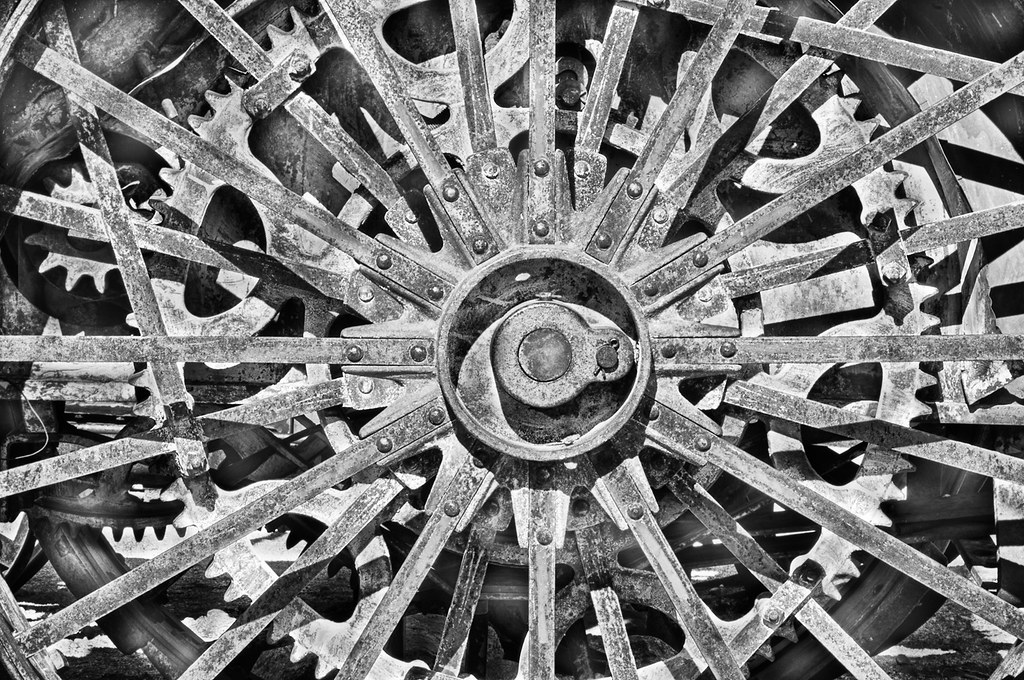 Wheels within Wheels © Harold Davis