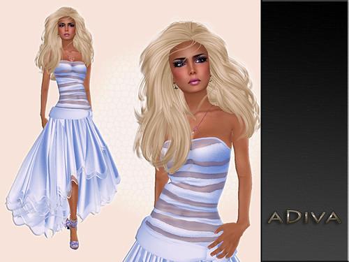 aDiva couture Liriel Lightblue