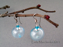 earrings lampwork
