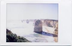 * (No Fixed Address / TJ) Tags: sea polaroid coast victoria coastline analogue greatoceanroad twelveapostles southernocean 12apostles instantfilm polaroid300 greatoceancoast touristclicheshot