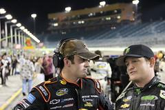 Austin Dillon & Ricky Carmichael (Homestead-Miami Speedway) Tags: theworldiswatching
