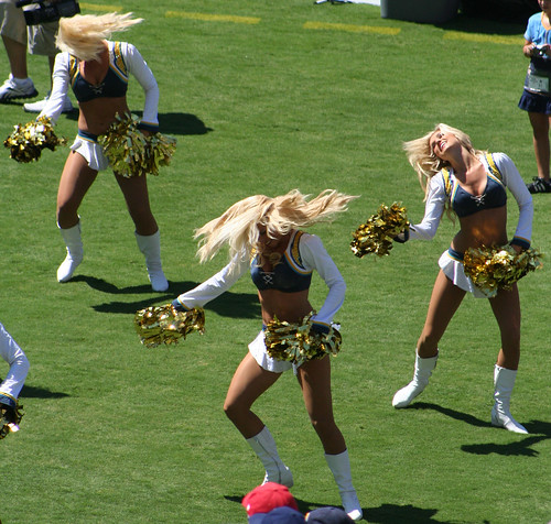 San Diego Chargers Cheerleaders Pictures: San Diego Chargers Cheerleader Photos