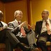 Joaquim Chissano, David Steel and Craig Newmark