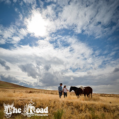 Western skies engagement session (The Road Photography) Tags: horse love nature oregon engagement cowboy inspired naturallight western choice theroad esession platinumheartaward blinkagain bestofblinkwinners