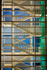 Colour Stairs (C. Strife) Tags: losangeles google santamonica tokina photowalk getty 1755mmf28g nikkor 1224mmf4 50mmf14g photowalkla d300snikon