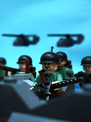 GI Brick product catalog : M1 pot ([N]atsty) Tags: green army sand lego vietnam ba minifig hind nam helly browning minifigure hellicopter brickarms
