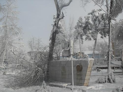Последствия снегопада в Курган-тюбе (20)