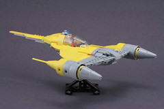 naboo starfighter completed (psiaki) Tags: star lego wars naboo moc starfighter mar31