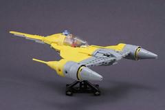 naboo starfighter completed (psiaki) Tags: star lego wars naboo moc starfighter mar31