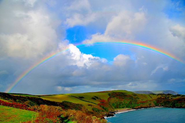 Cornish Rainbow. By R J Watson