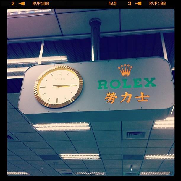 台湾松山空港