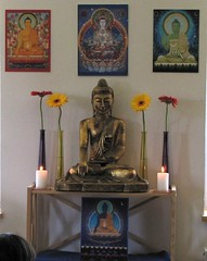 Tallinn Buddhist Centre shrine, Estonia