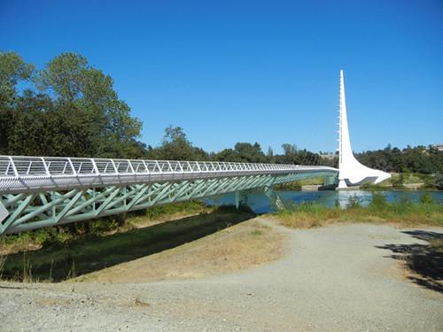 Sundial Bridge, Turtle Bay, Redding, California _ 5381