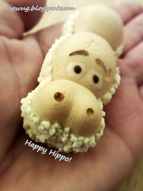 Happy Hippo with flaring nostrils!??