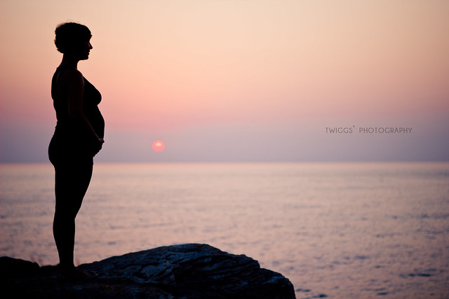 a magical {sunset}