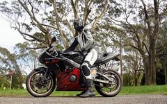 Yamaha YZF-R6 (Stefan Jrgensen) Tags: blue mountains sony australia bluemountains mount motorbike nsw motorcycle yamaha dslr tomah yzf r6 2011 mttomah yzfr6 a700 bellslineofroad
