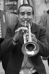 the trumpeter (Shootin_Mania) Tags: portrait music band trumpet jazz streetartist 50 ffm 5014 balcans