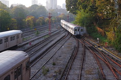 055 (citatus) Tags: morning toronto canada fall station yard subway pentax ttc rail davisville kx 2011
