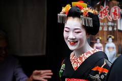(Tamayura) Tags: japan nikon kyoto oct maiko gion kansai d3 debut 2011 misedashi gionhigashi 70200mmf28gvrii 201110111507281
