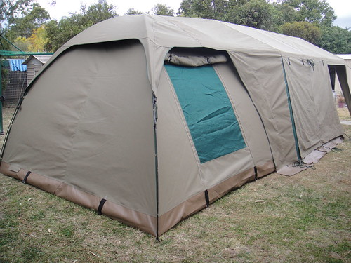 Campmor canvas shower tent at last 6234678920_fb209b0b77