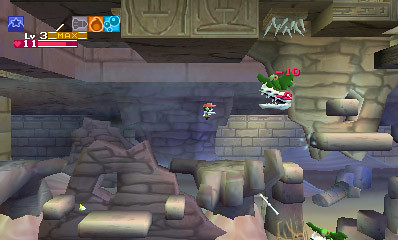 Cave Story 3DS - Sandzone 12
