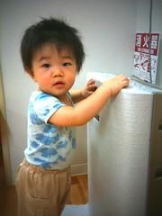 子育て支援センターにて(2011/10/15)