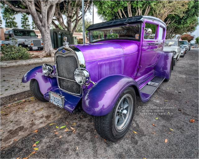 purple ford