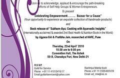 Ayurvedic cookbook launch at Delhi