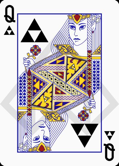 Cartas de póquer de Zelda 4
