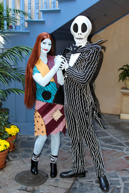 Jack Skellington and Sally Stitches