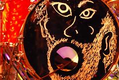 awesome liam finn kick drum (minervacat) Tags: durham northcarolina concerts liamfinn 2011 thecasbah