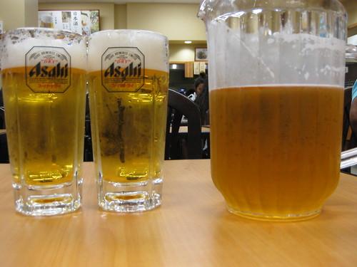 shirokiya beer garden, ala moana mall