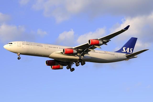 Scandinavian Airlines (SAS) Airbus A340-313X (OY-KBD)