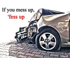 The picture speaks for itself! (Aljazi.q8) Tags: up mess accidents kuwait aljazi aljaziq8
