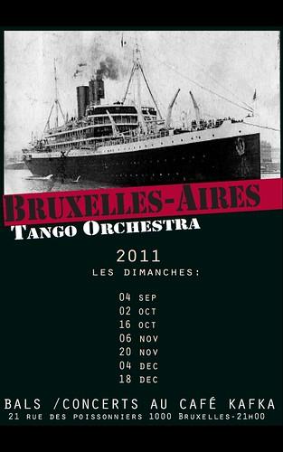 Bruxelles Aires Tango Orchestra @ Kafka
