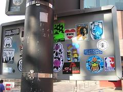 Eindhoven (freaQ) Tags: urban streetart happy sticker stickerart character paste stickers cartoon vinyl adhesive printed handdrawn combo stickercombo straatkunst stickerpack freaq stickertrade