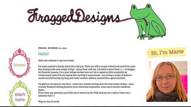 blog design :)
