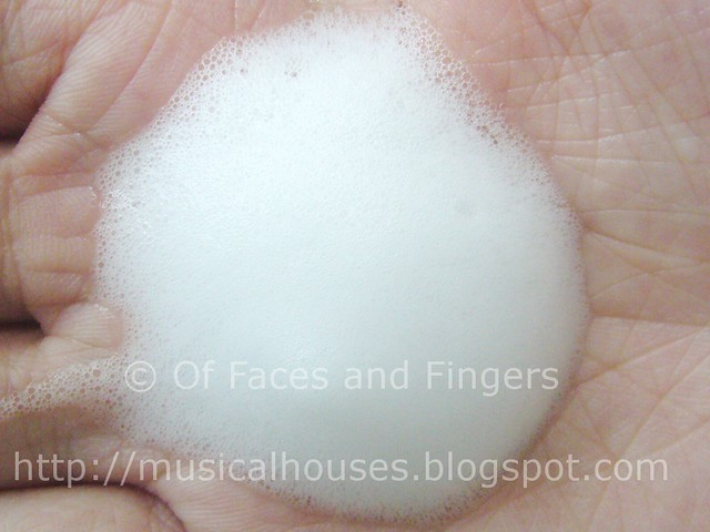 amethystory mineral bubble face wash foam 1
