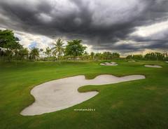 the 9th holes... (mirsham) Tags: cloud rain golf landscape nikon sigma sigma1020 vertorama tropicanagolfclub nikond7000