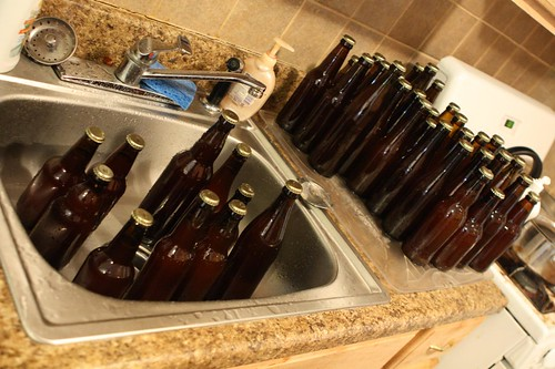 Bottles: Filled, Capped, and Washed