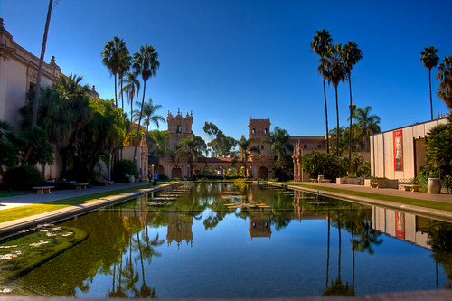 Balboa Park Reflecting Pool