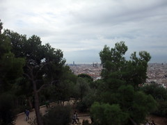 barcelona_2_304 (OurTravelPics.com) Tags: barcelona from park city tower church torre with view center famlia sagrada agbar gell