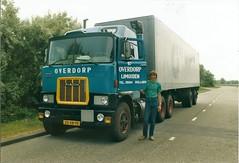 Mack F786ST diesel 'Double Sleeper' with Fruehauf trailer 1980 (TedXopl2009) Tags: mack f700 fruehauf overdorp 20xb10