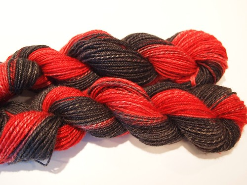FCK Vampire Suicide-chain plied-2 skeins-total of 266yds