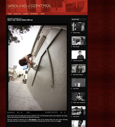 My photo on the Ground Control Website