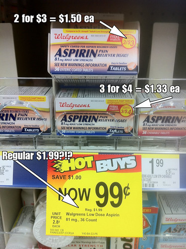 Walgreens has some math problems when it comes to pricing